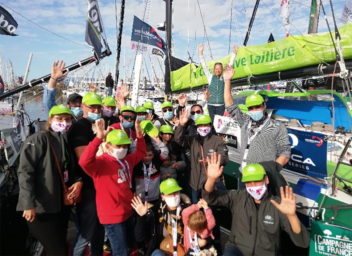 collaborateurs MLC Vendée Globe